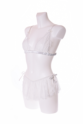 Pompadour Couture Charlotte Bra - Ivory