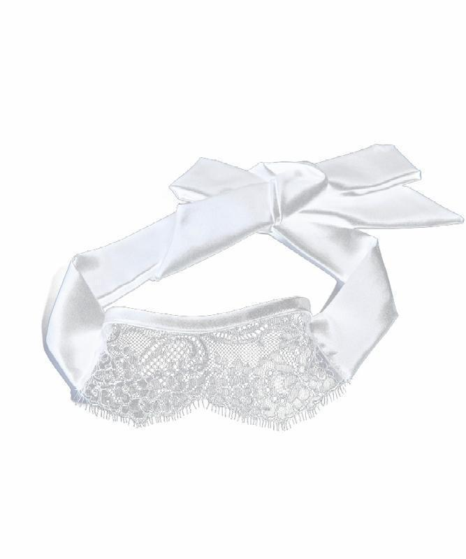 Something Wicked Lace Mask in Ivory - product - Beautifully Undressed
