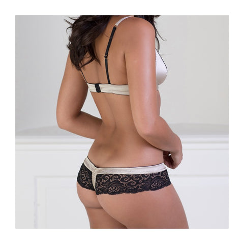 Emma Harris, Signature Gold Thong back - Beautifully Undressed