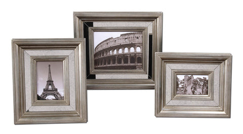 Uttermost 18519 Hasana Photo Frames S/3 Accessories - UTMDirect
