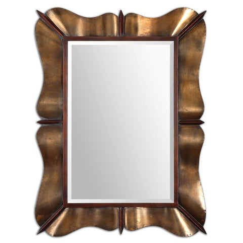 Uttermost 12879 Bowery Curved Metal Mirror - UTMDirect