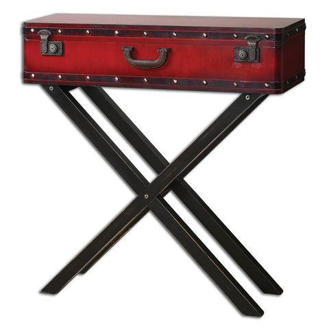 Uttermost 24379 Taggart Red Console Table - UTMDirect
