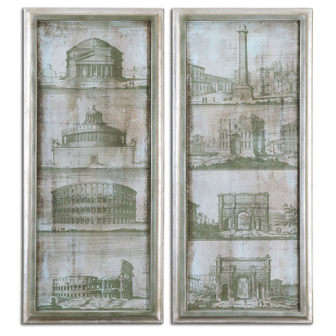 Uttermost 35237 Architectural Survey Wall Art S/2 - UTMDirect