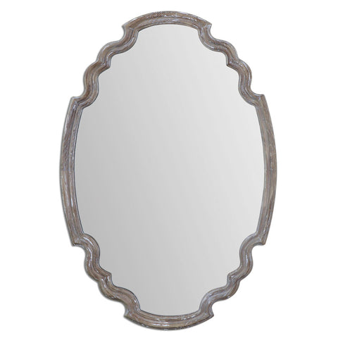 Uttermost 14483 Ludovica Aged Wood Mirror - UTMDirect