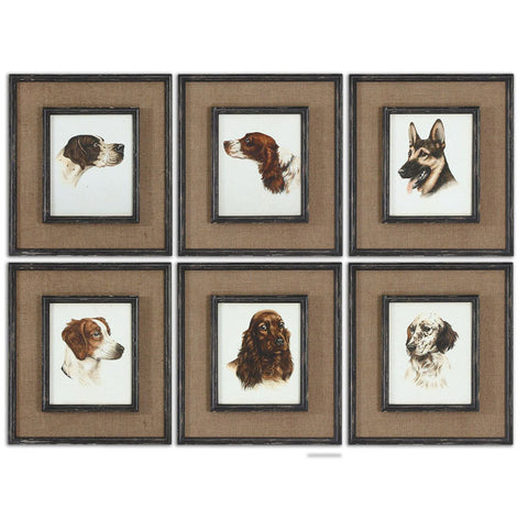 Uttermost 55001 Special Friends Wall Art Set/6 - UTMDirect