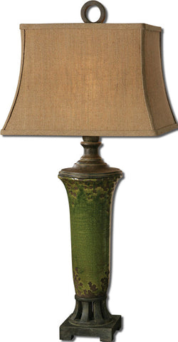 Uttermost 27436 Olea Green Table Lamp - UTMDirect