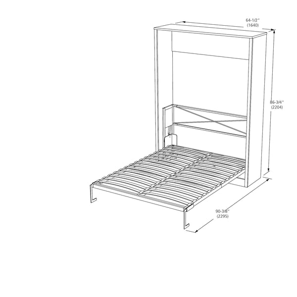 Vertical Queen Size Murphy Beds For Sale Online Furniture Store