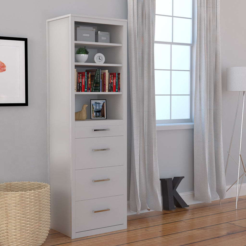 White Lacquer Queen Murphy Bed With Desk For Sale Online