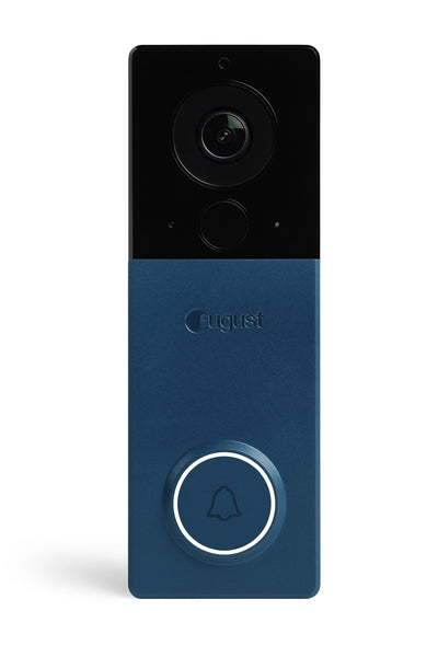 August View Wireless Doorbell Video Camera Blue