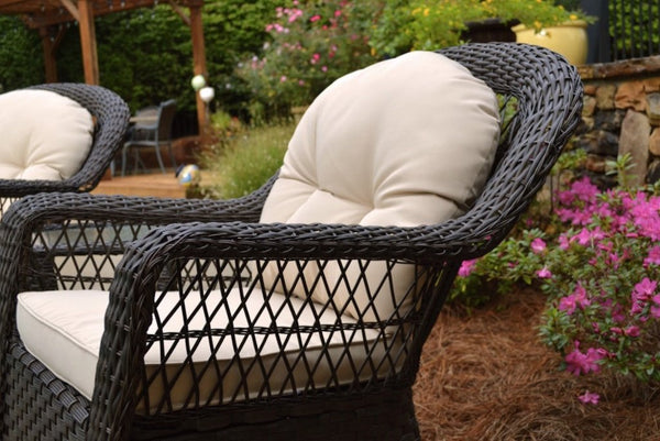Biloxi Outdoor Swivel Chairs Wicker Patio Furniture