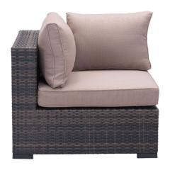 Bocagrande Synthetic Woven Resin Outdoor Patio Sectional Wicker Furniture