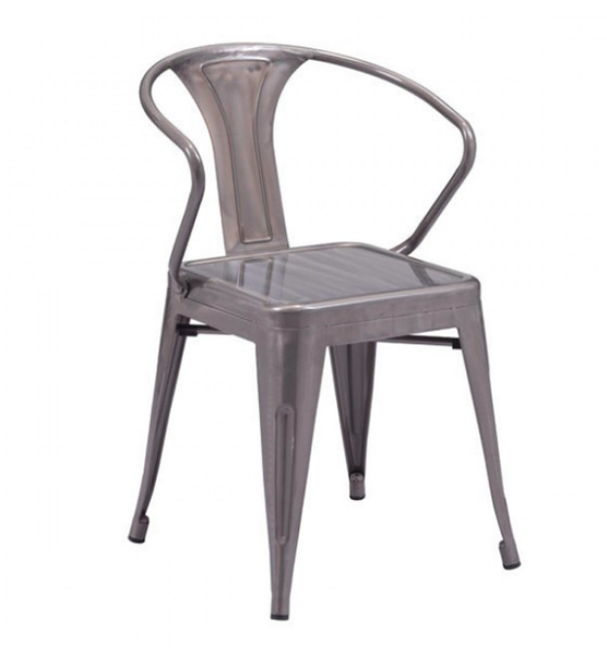 Zuo Modern Helix Gunmetal Dining Chair