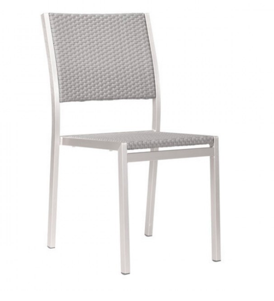 Zuo Modern Contemporary Outdoor Aluminum Dining Chair