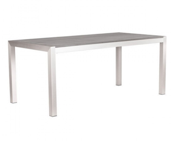 Zuo Modern Contemporary Outdoor Aluminum Dining Table