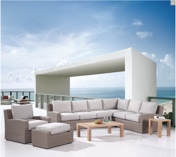 Grey Modern Design Outdoor Sectional