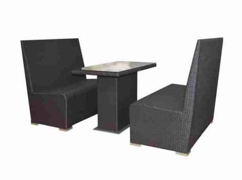 Cafe Booth Table Set Commercial Outdoor Furniture For Sale Online
