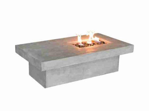 Rectangle Fire Pit Table | Commercial Outdoor Furniture Online Sale