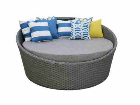 Round Outdoor Daybeds With Canopy | Commercial Outdoor Furniture Sale
