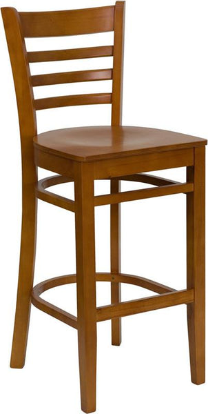 Flash Furniture Matching Ladder Back Bar Chairs & Restaurant Chairs