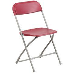 Flash Furniture Hercules Red Folding Chair 800 lb Capacity