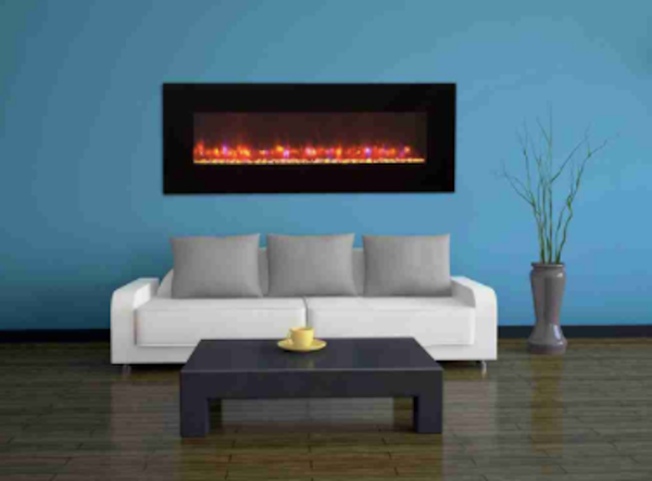 Gallery Linear LED Wall Mount Electric Fireplaces For Sale Online