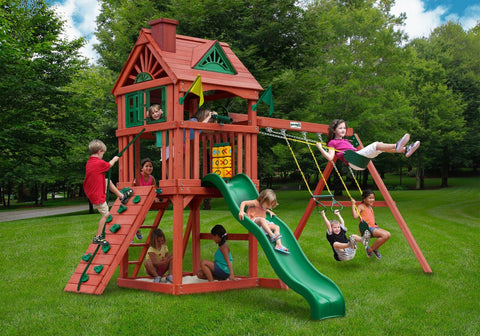 Holiday Christmas Sale Gorilla Playsets Nantucket Swing Set