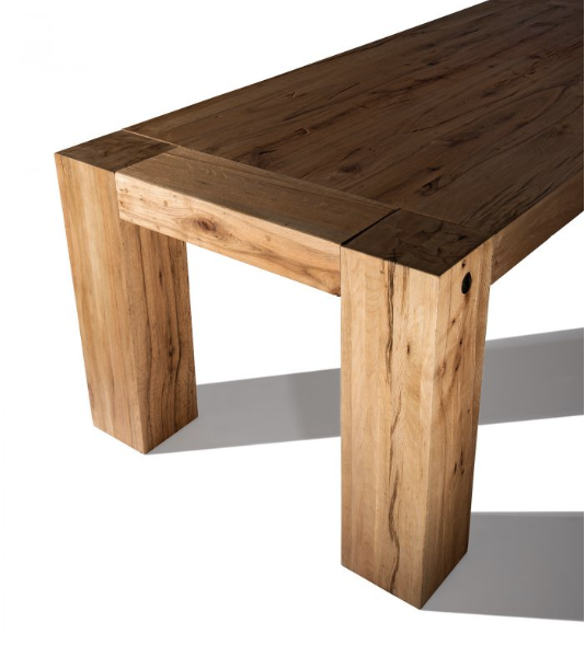 Rectangle Wood Table | Recycled and Reclaimed Wood Modern Dining Room Tables