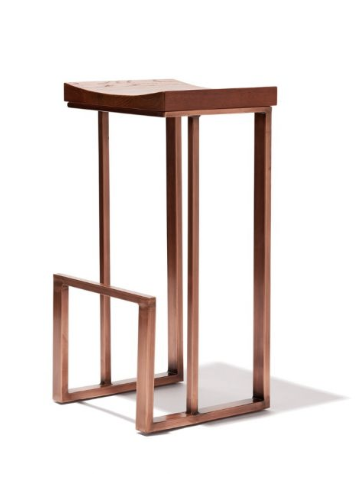 Modern Barstools | Warm and Comfy Square Shaped Barstools Restaurant