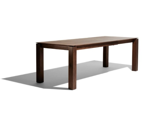 European Dining Table | Designer Rectangle Dining Tables Natural Wood Finish