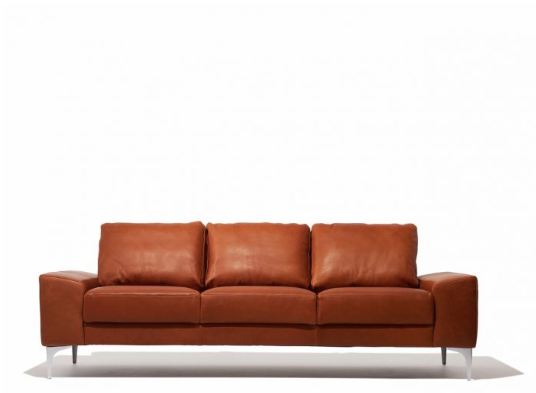 Italian Leather Mid Century Modern Sofa For Sale Online Furniture Store