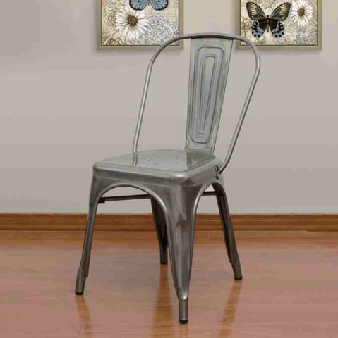 Best Prices Tolix Style Metal Chairs | Modern Furniture Dining Chairs
