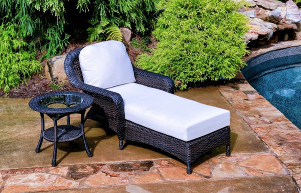 Tortuga Outdoor Sea Pines Wicker Outdoor Chaise Lounge Chairs