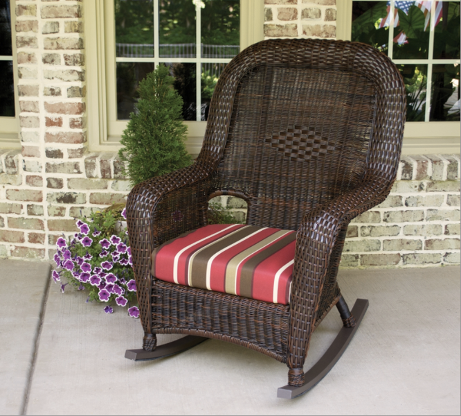 Sea Pines Wicker Outdoor Rocking Chairs