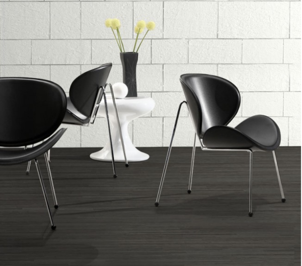 Match Black And White Faux Leather Accent Chairs For Sale Online Store