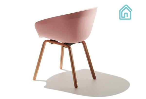 Buy Mid Century Modern Pink Chair Online Furniture Store
