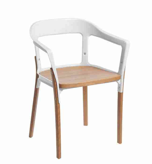 Restaurant Chairs | Wood And Metal Coated Dining Chairs