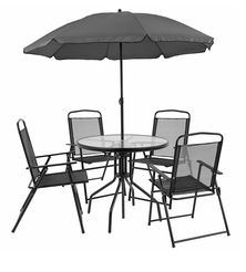 Flash Furniture Nantucket 6 Piece Patio Furniture Set