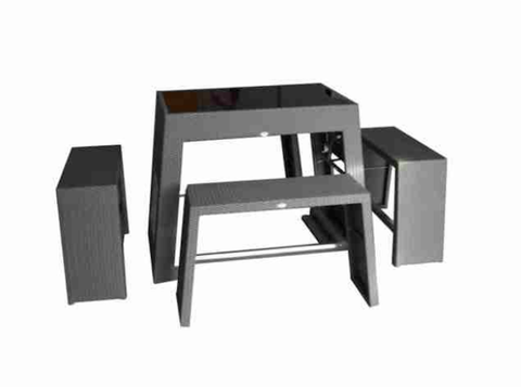 Nassau Outdoor Bar Set Commercial Outdoor Furniture For Sale Online