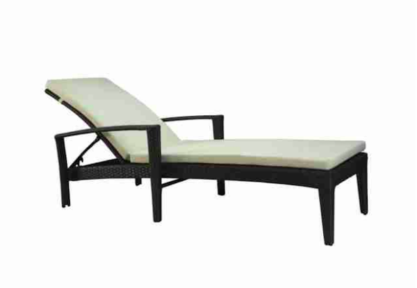 Fidji Outdoor Chaise Lounge Arm Chair Commercial Outdoor Furniture