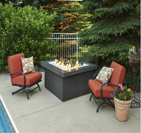 L-Shaped Outdoor Fire Pit Table Outdoor Patio Furniture Sale Online