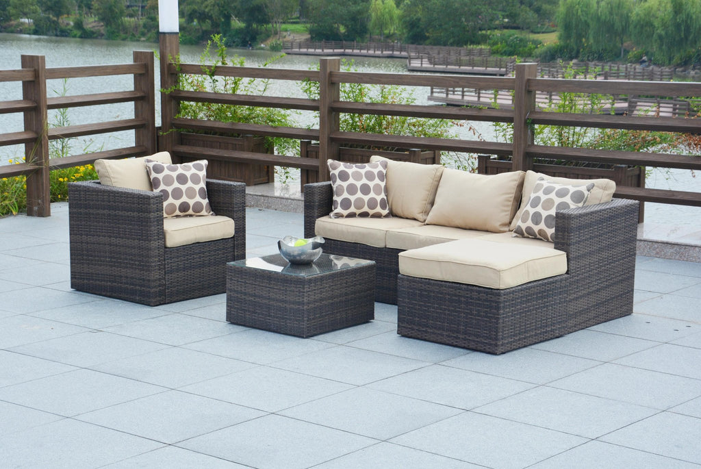 Rattan Furniture for Outdoor Patio Set