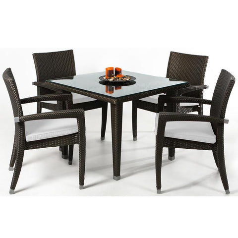 Rattan Patio Table Set
