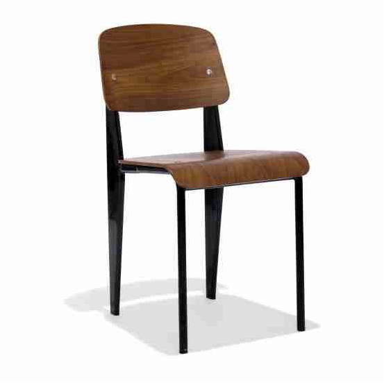 Industrial Restaurant Chairs Wood Seat Chair Online Furniture Store