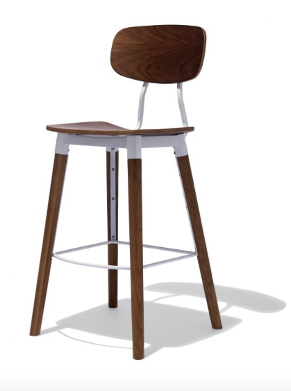 Scandinavian Mid Century Modern Bar Stools For Sale Online Furniture