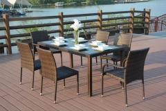 Rattan Outdoor Dining Set Patio Furniture For Sale Online Furniture