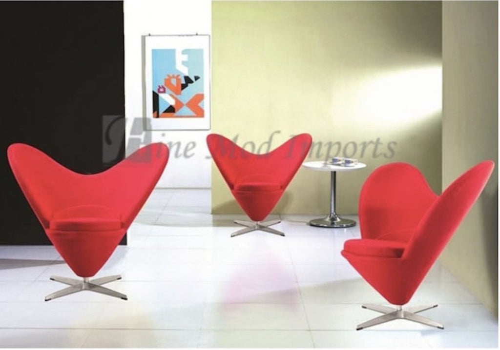 Heart Shape Armchair Modern Living Room Furniture For Sale Online