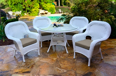 Labor Day Sale Tortuga Outdoor Sea Pines 5 Piece Dining Set