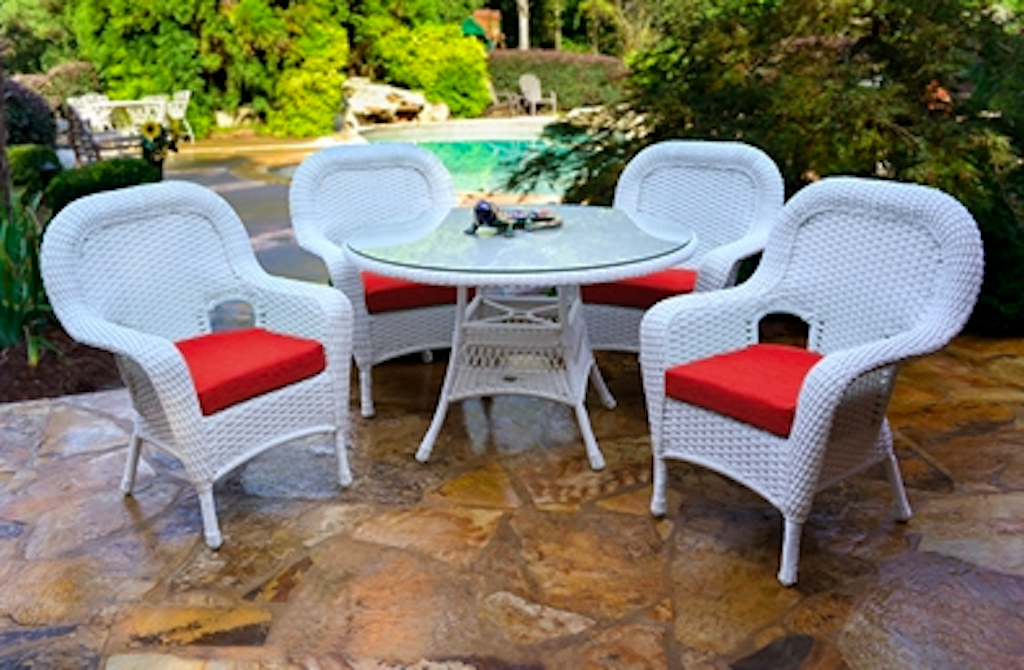 Buy Tortuga Outdoor Sea Pines 5 Piece Dining Set Furniture Dealer