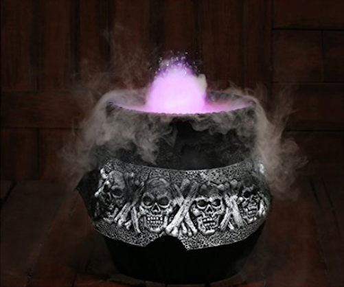 Smoking Cauldron Halloween Decoration For Sale Online