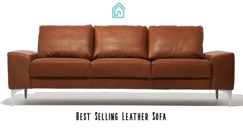 Best Selling Sofa Imported From Italy Hermes Light Brown Leather